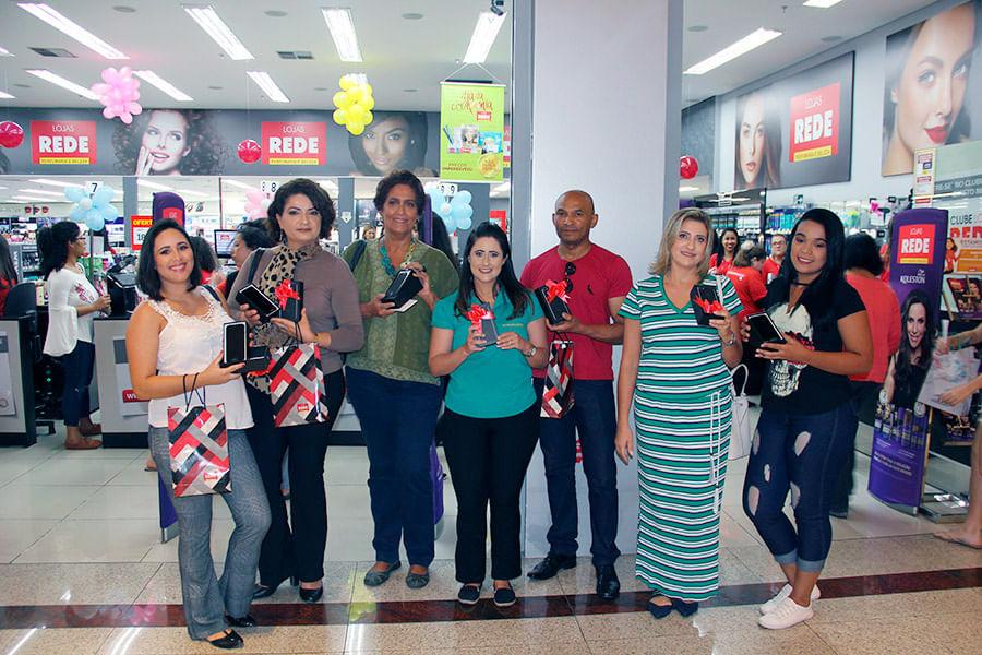Fotos Aniversário Lojas REDE 2018