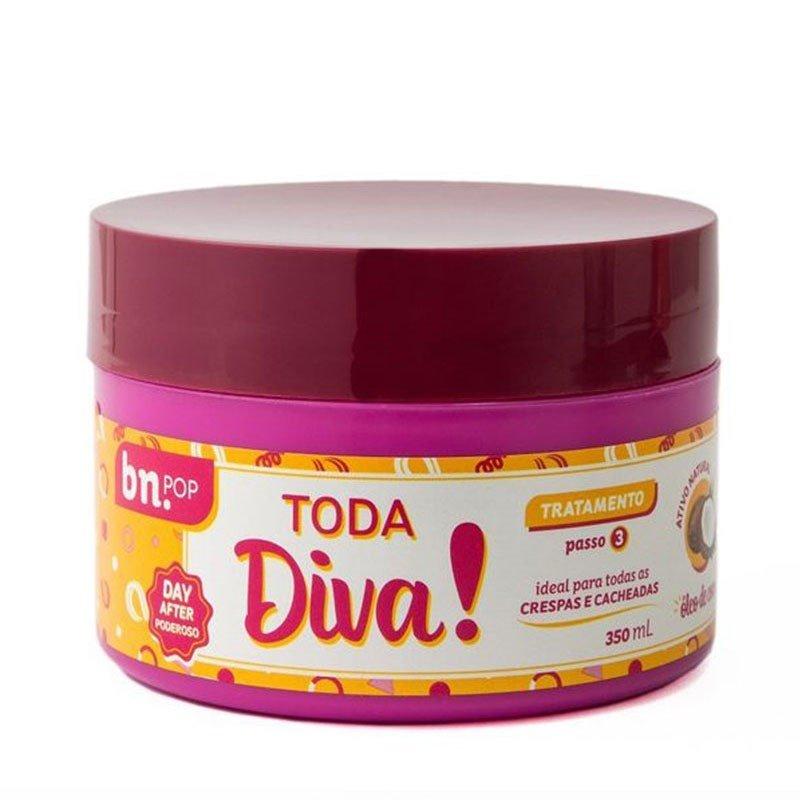 c53a8e5751277 Máscara De Tratamento Beleza Natural Toda Diva 350ml - Lojas Rede