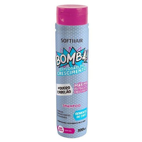 Shampoo Soft Hair Bomba 300ml - Lojas Rede 23ead023f15e