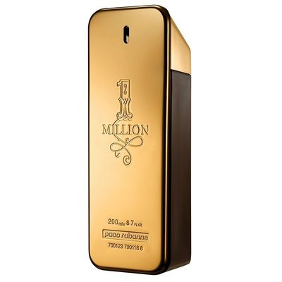 Perfume Paco Rabanne 1 Million Eau de Toilette Masculino 200ml