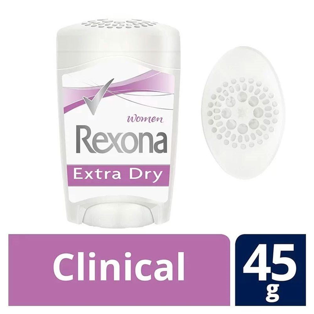 Desodorante Stick Rexona Clinical Women Extra Dry 48g