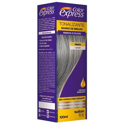 Kit Tonalizante Salon Line Color Express Prata