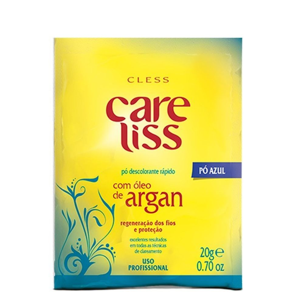 Pó Descolorante Care Liss Argan 20g