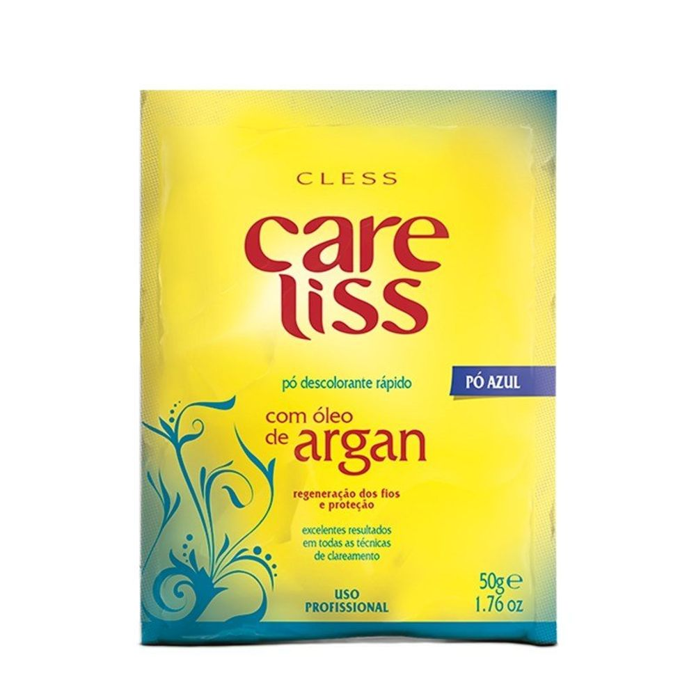 Pó Descolorante Care Liss Argan 50g