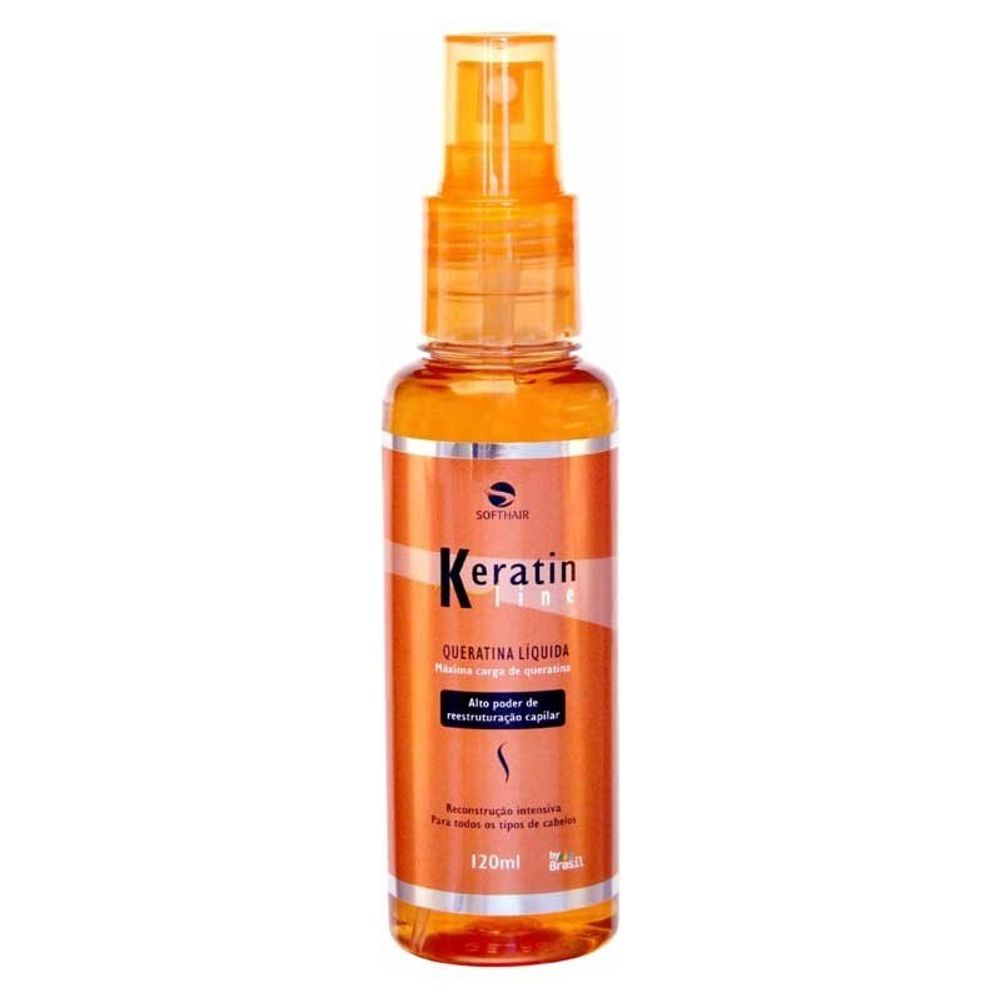 Keratina Líquida Keratin Line Soft Hair 120ml