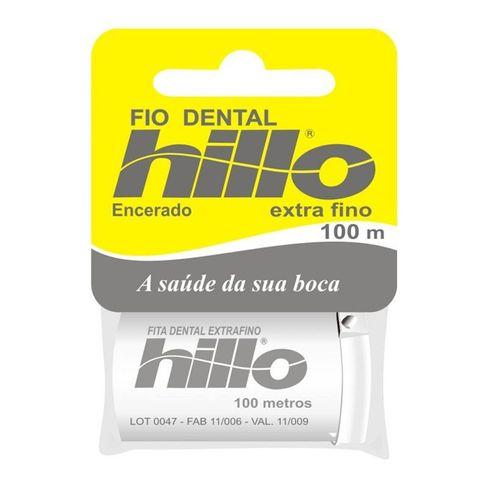 3f0d0fa75 Fio Dental Hillo Extra Fino 100 Metros - Lojas Rede