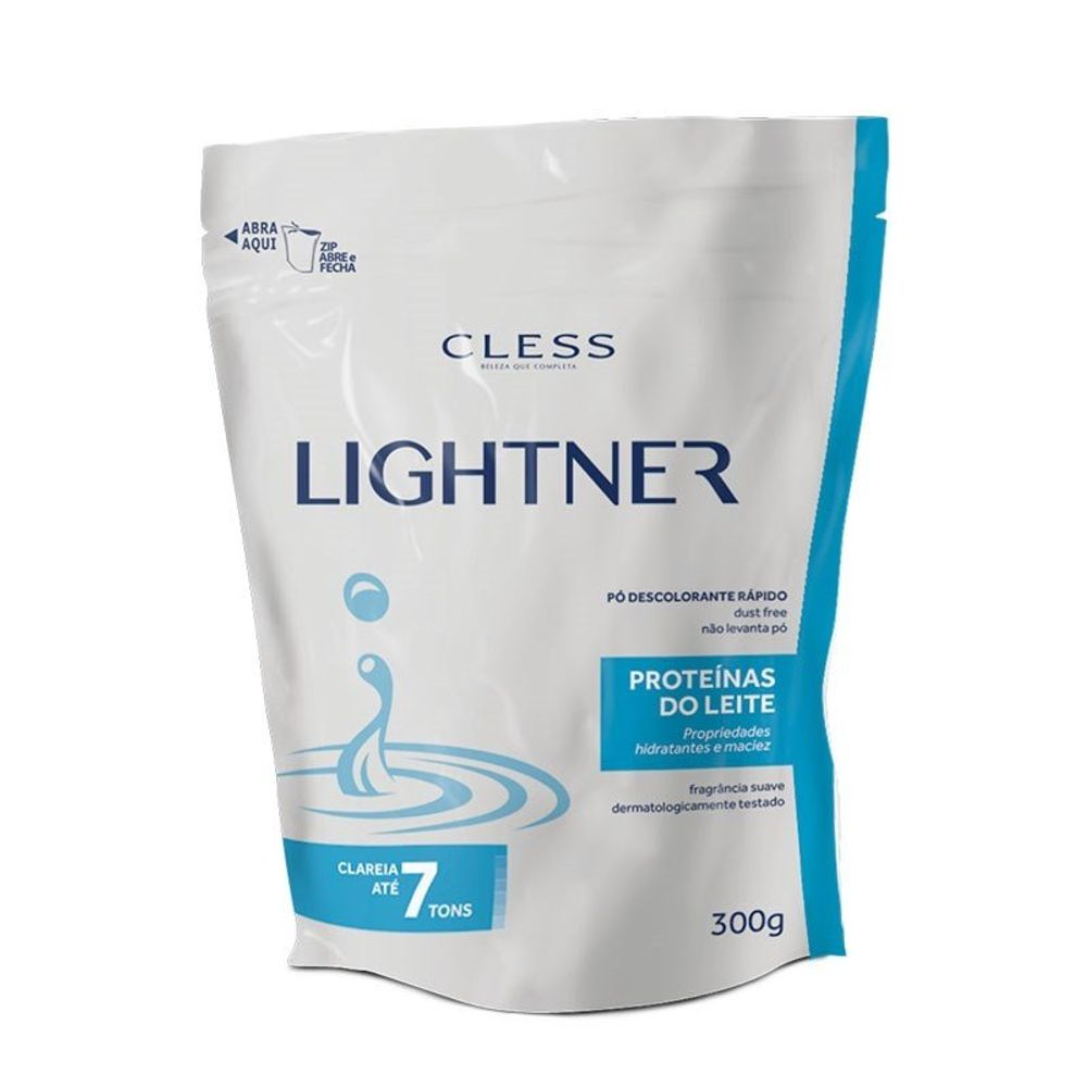Pó Descolorante Lightner Refil Proteína Do Leite 300g