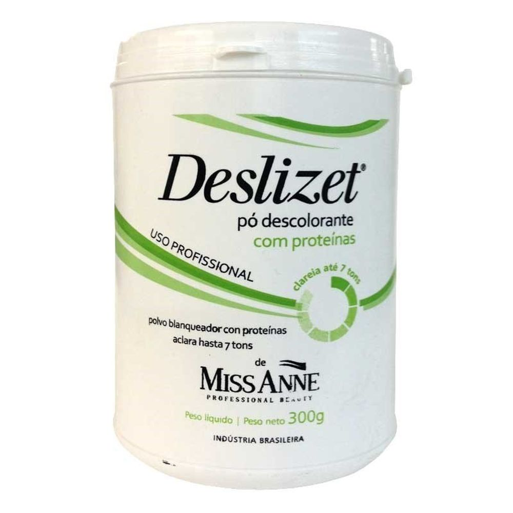 Pó Descolorante Deslizet Miss Anne 300g