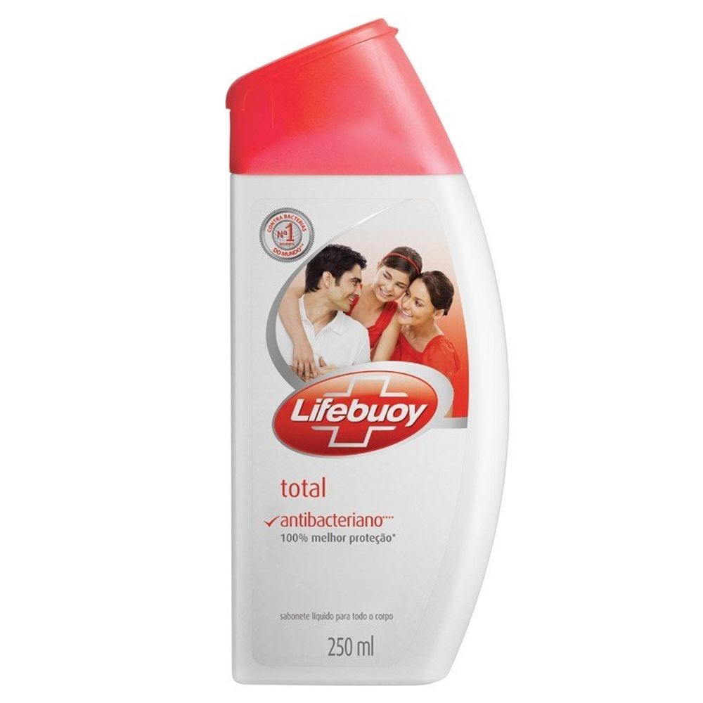 Sabonete Líquido Lifebuoy Total 250ml