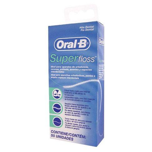 f2a6c76d1 Fio Dental Oral-B Essential Super Floss 50 Metros - Lojas Rede