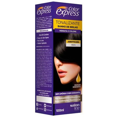 Kit Tonalizante Salon Line Color Express Jaboticaba