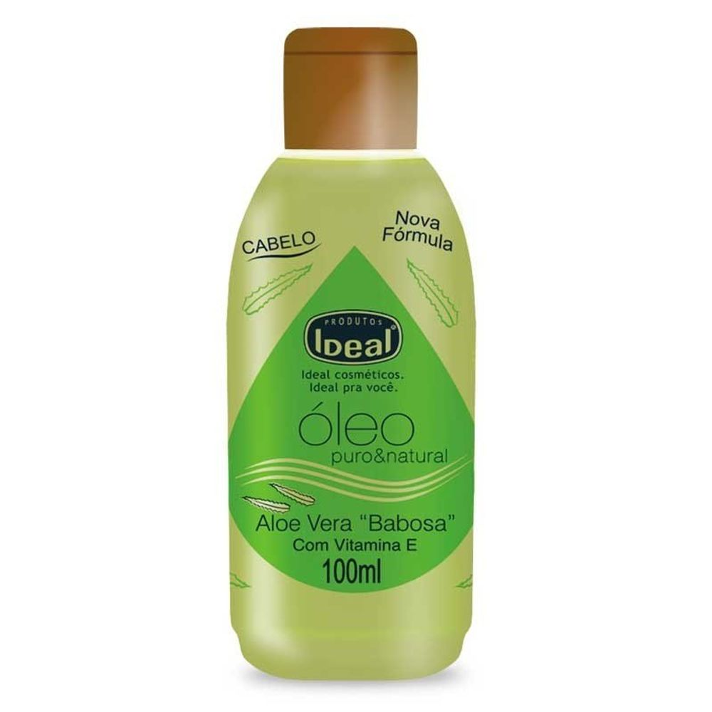 Óleo Capilar Ideal Hidratante Aloe Vera 100ml