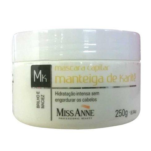 87d02bc85 Máscara Capilar Miss Anne Manteiga De Karité 250g - Lojas Rede