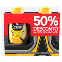 Kit Desodorante Roll On Rexona Men V8 50ml 2 Unidades