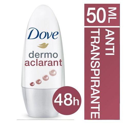c96e096c8 Desodorante Roll On Dove Dermo Aclarante 50ml - Lojas Rede