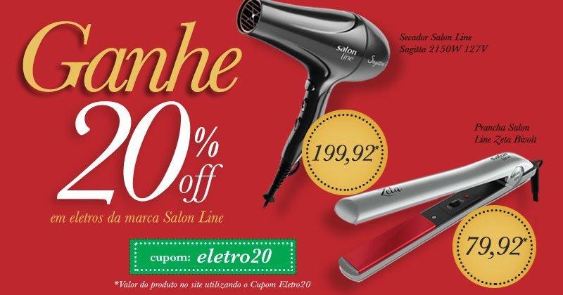 Promo eletro salon line