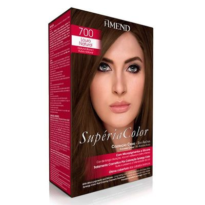 Kit Tonalizante Supéria Color Amend 700 Louro Natural