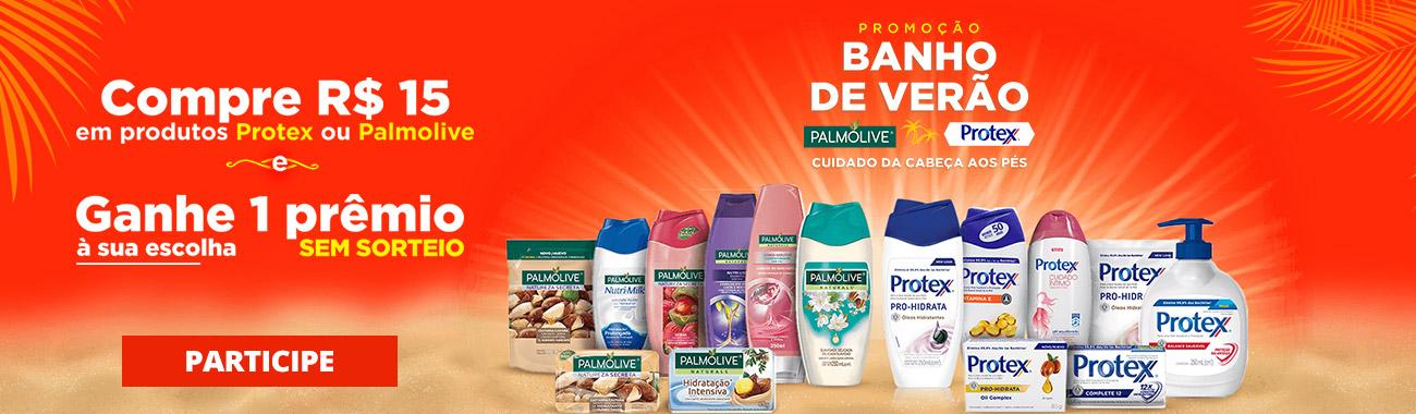 CORPO E BANHO - Banho de Verão - Palmolive e Protex