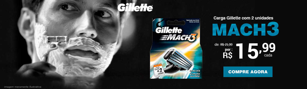 HOMEM - Gillette
