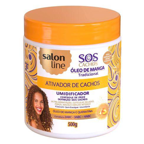6a2788ff2 Ativador De Cachos Umidificador Salon Line S.O.S 500g - Lojas Rede
