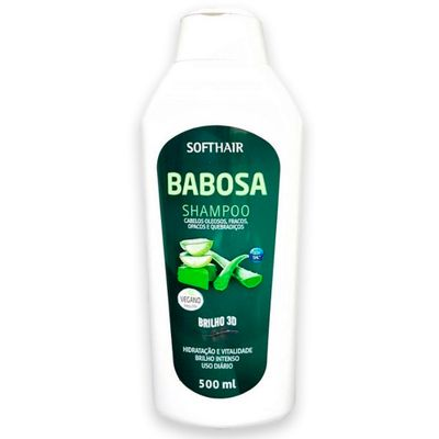 Shampoo Soft Hair Babosa 3D 500ml