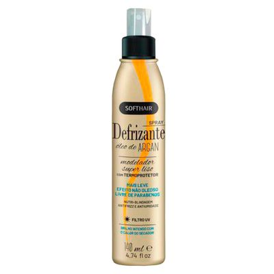 Defrizante Spray Soft Hair Óleo De Argan 140ml