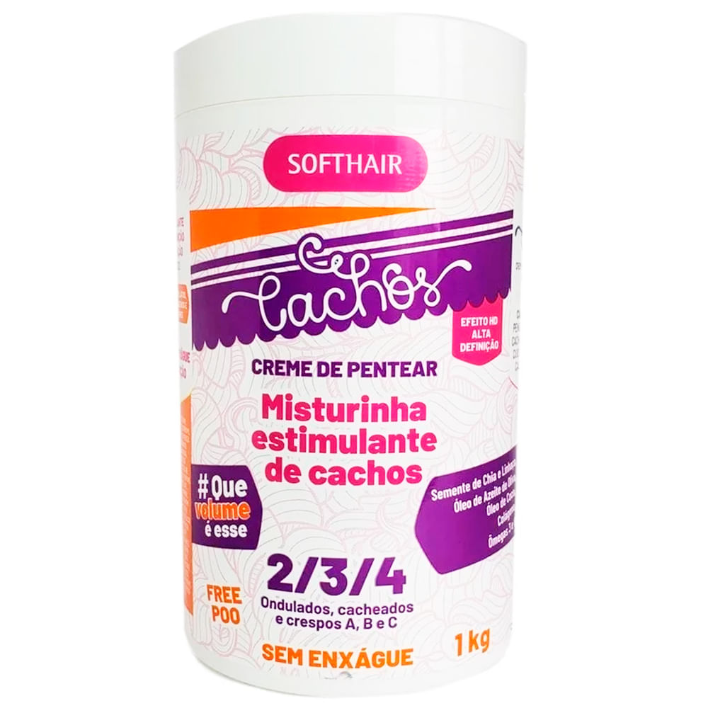 Misturinha Potente Soft Hair Cachos 1kg