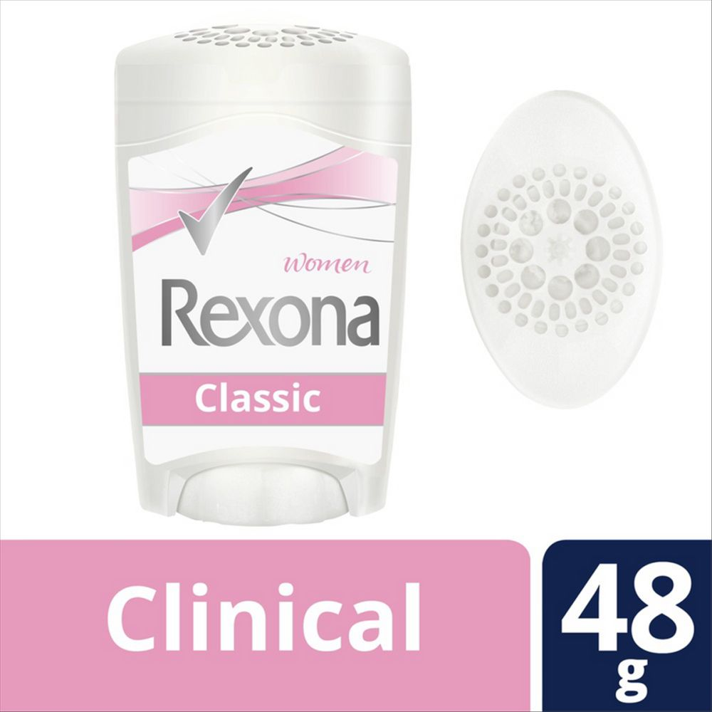 Desodorante Antitranspirante Rexona Clinical Classic 48g