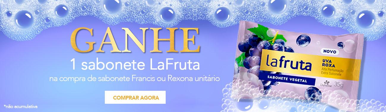 CORPO E BANHO - Brinde Sabonete La Fruta