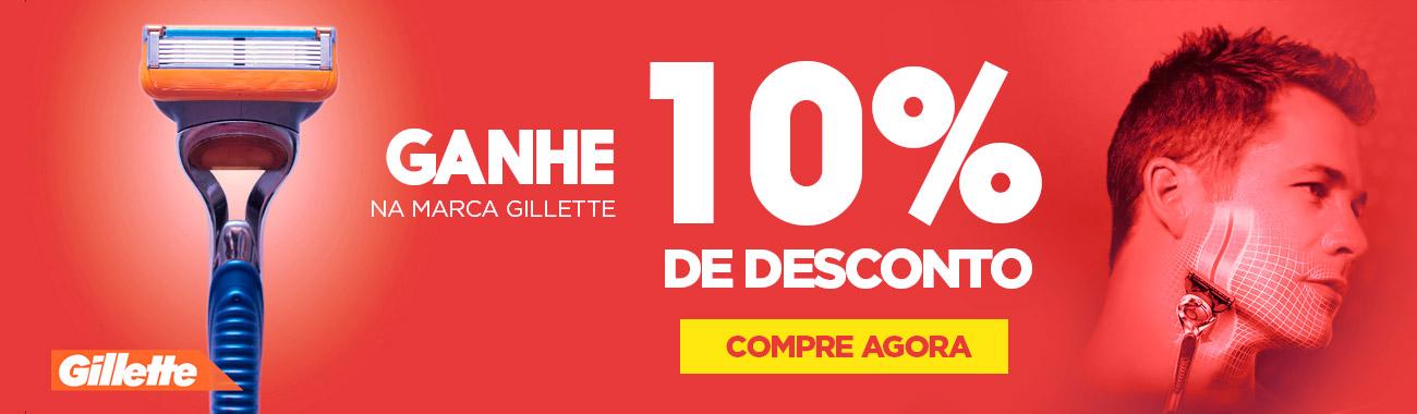HOMEM - GILLETTE 10OFF