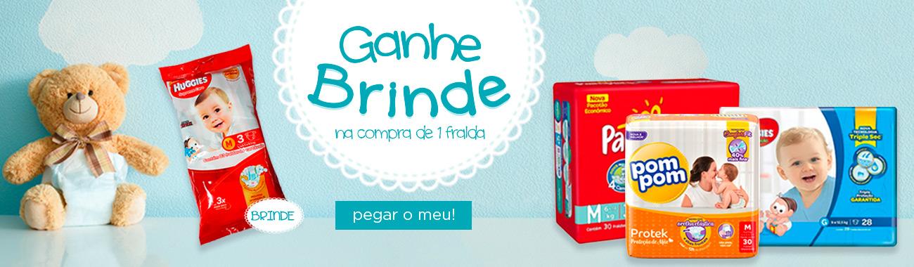 INFANTIL - Brinde Fralda