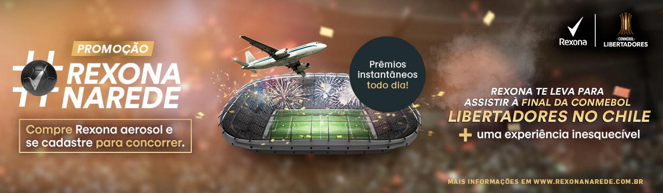 CORPO E BANHO - Rexona Libertadores