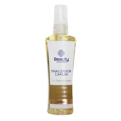 Finalizador Capilar Beauty Cosmetics Com Óleo De Argan 100ml