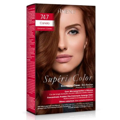 Kit Tonalizante Supéria Color Amend Canela - 747