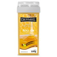 Cera Refil Roll On Depimiel Amarela 100g