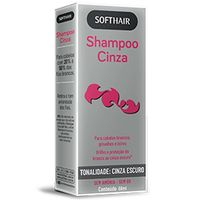 Shampoo Soft Hair Cinza Escuro 60ml