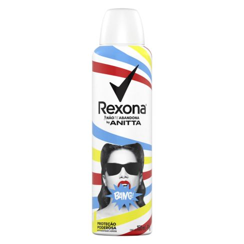 Desodorante Rexona Aerosol By Anitta Bang 150ml