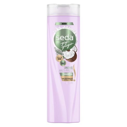 Shampoo Seda Ondas Anti Frizz By Gigi Grigio 325ml