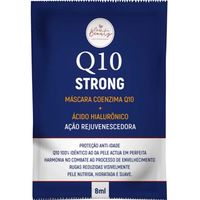 Máscara Facial New Beauty Rejuvenescedora Q10 Strong 8ml
