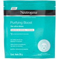 Máscara Facial Neutrogena Purifying Boost Hydrogel 30g