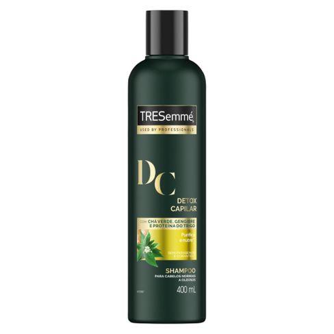 Shampoo TRESemmé Detox Capilar Limpeza E Nutrição 400ml