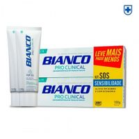 Kit Creme Dental Reg Bianco Pro Clinical 100g Com 2 Unidades