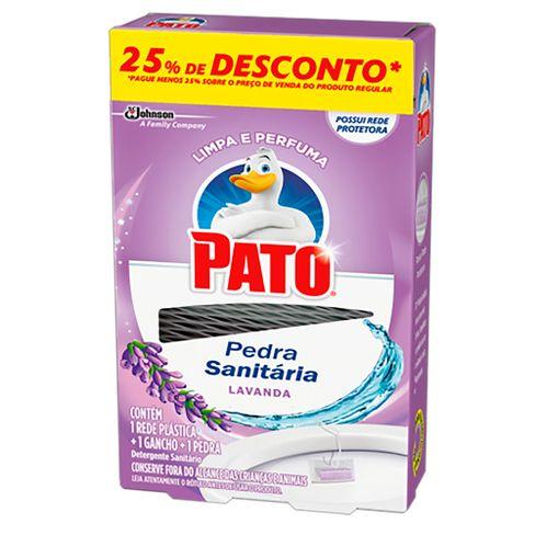 Pedra Sanitária Pato Lavanda 25g 25% Desconto