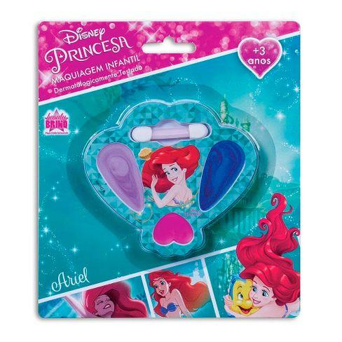 Estojo De Maquiagem Infantil Beauty Brinq Princesa Ariel