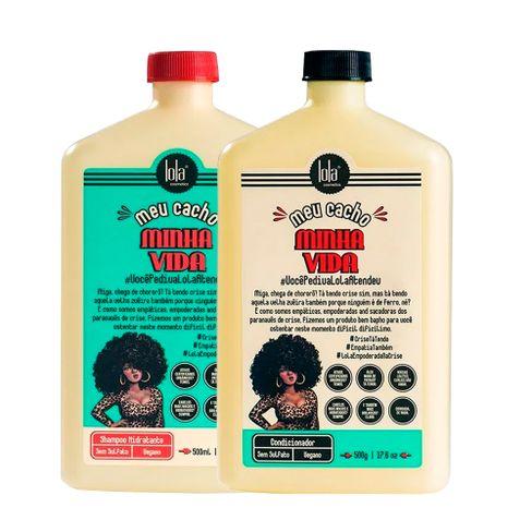 Kit Shampoo e Condicionador Lola Meu Cacho Minha Vida 500ml