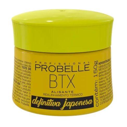 Creme Alisante Probelle Btx Definitiva Japonesa 150g