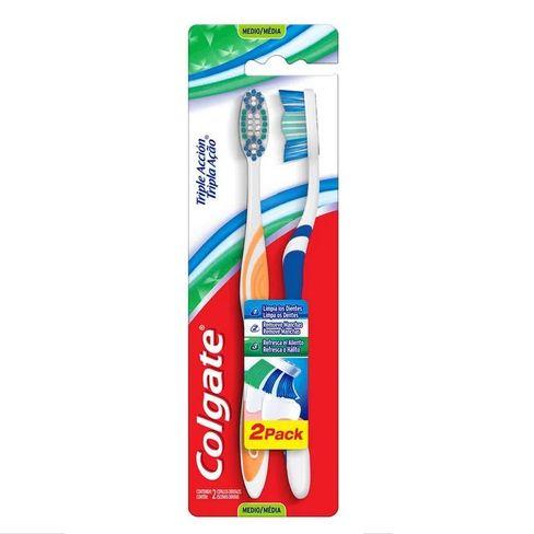 Escova Dental Colgate Tripla Ação Leve 2 Pague 1