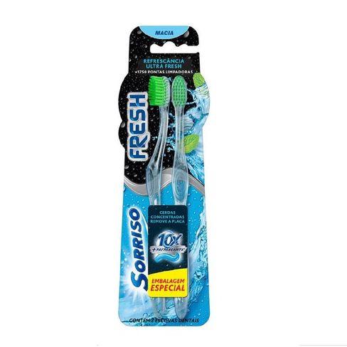 Escova Dental Sorriso Fresh - 2 Unidades