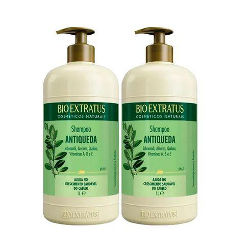 Kit Shampoo Bio Extratus Jaborandi Antiqueda 1L - 2 Unidades